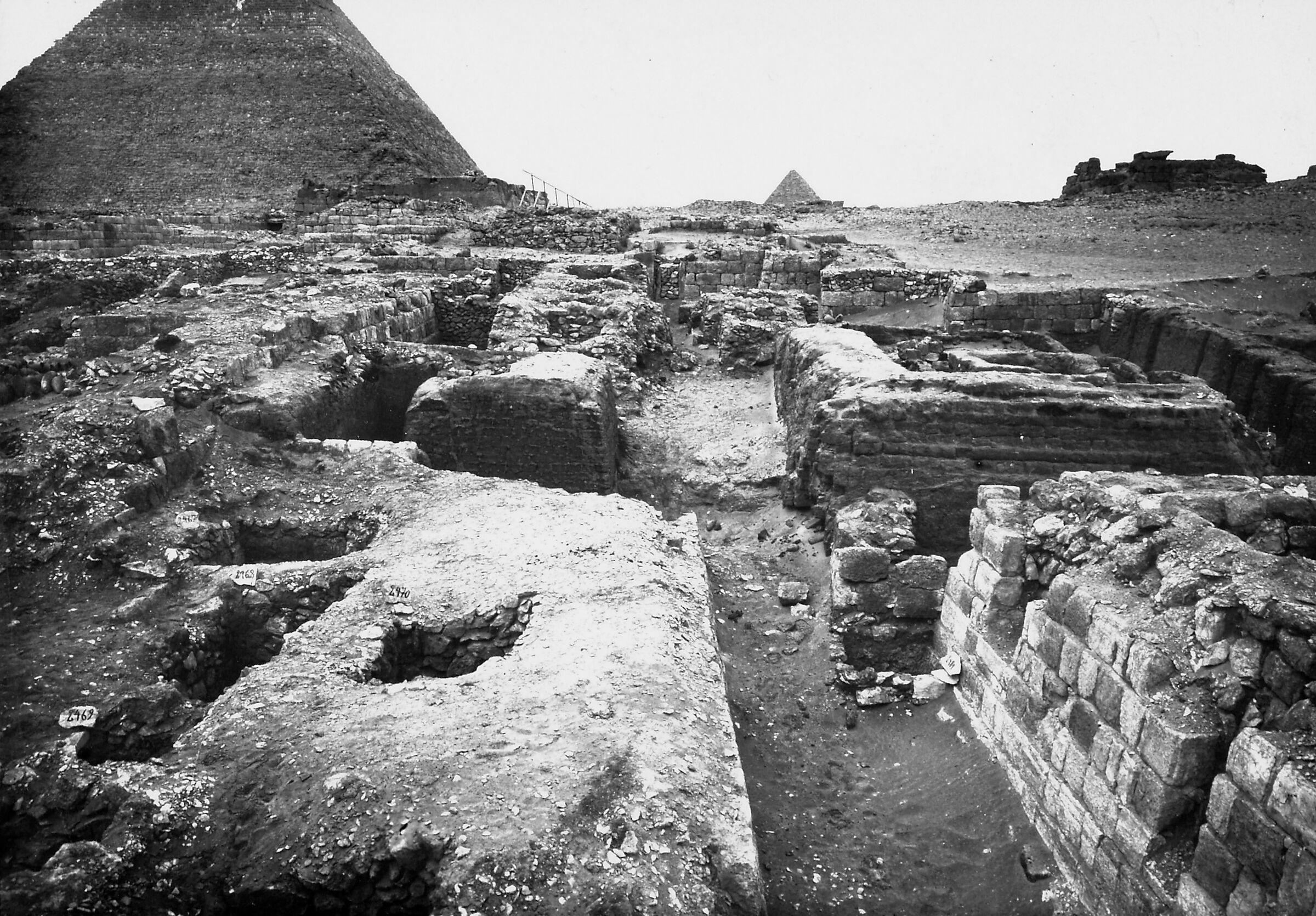 Western Cemetery: Site: Giza; View: Hebi, S 2480/2488, S 2484, S 2506/2534