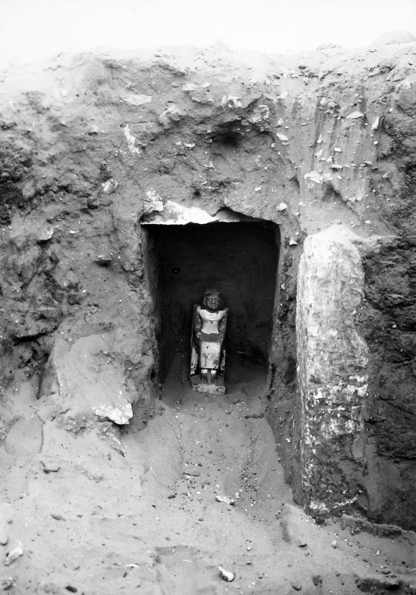 Western Cemetery: Site: Giza; View: Nebetpedju