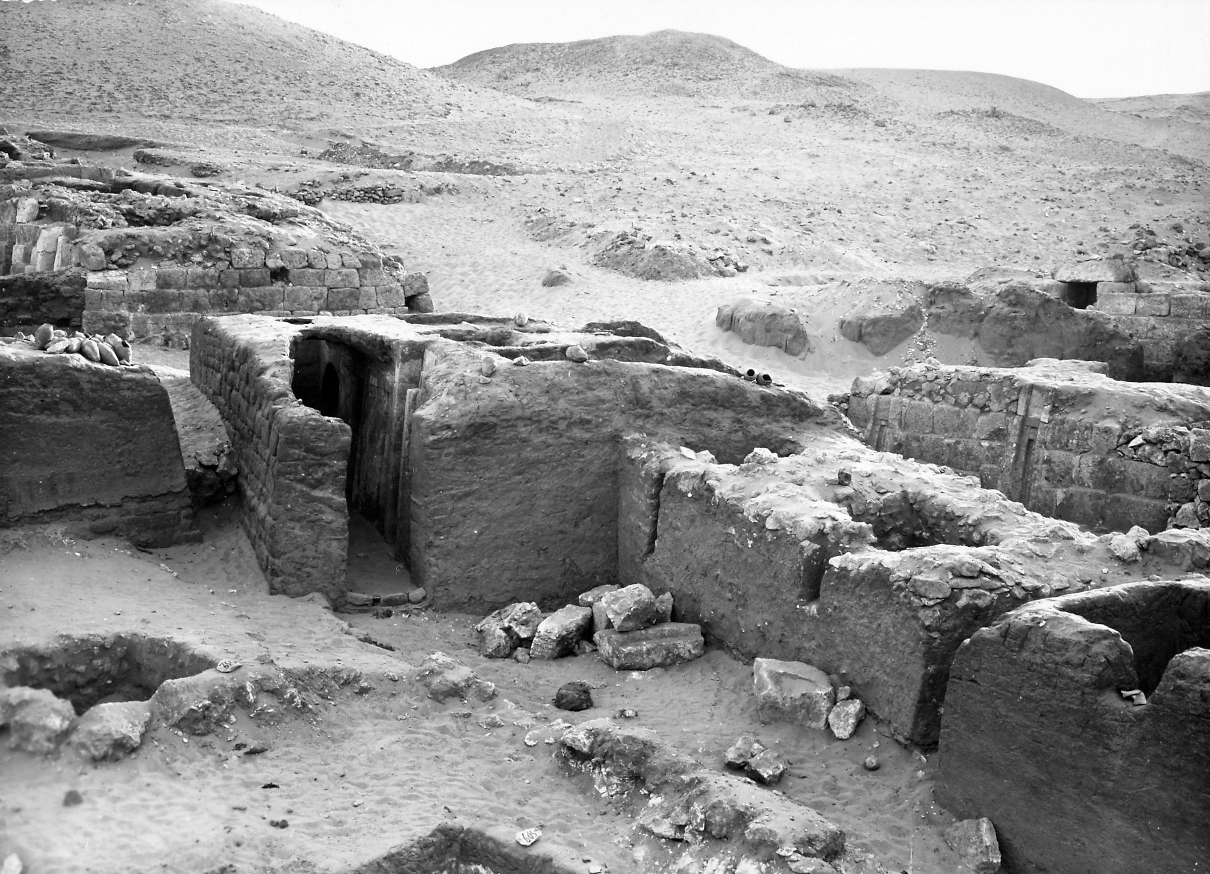 Western Cemetery: Site: Giza; View: Irty, S 4520/4521, S 4509