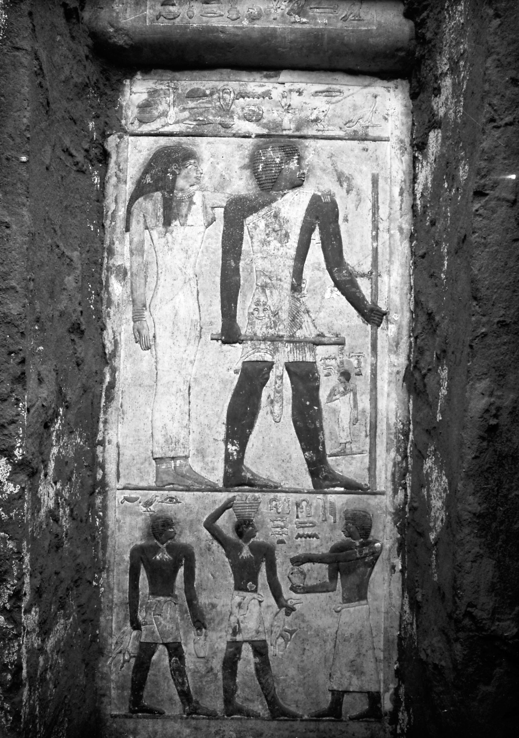 Western Cemetery: Site: Giza; View: Ankh