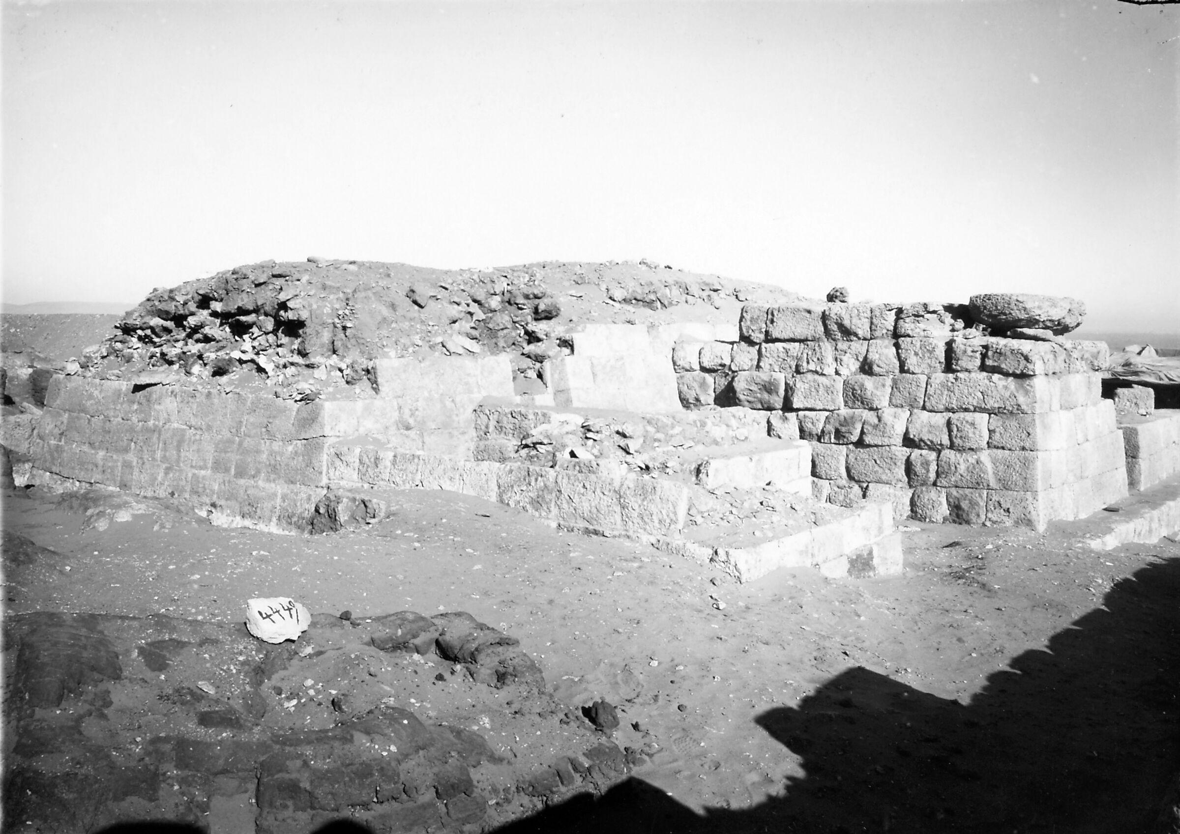 Western Cemetery: Site: Giza; View: Ankhu (2), S 4449