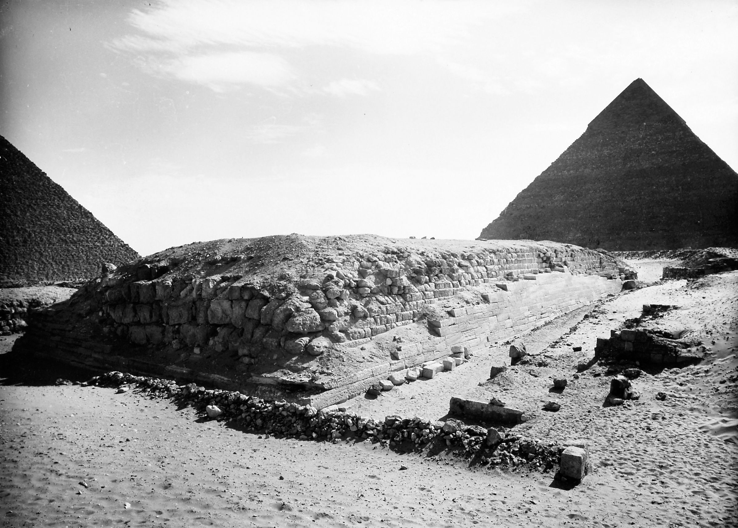 Western Cemetery: Site: Giza; View: G 4000, D 59