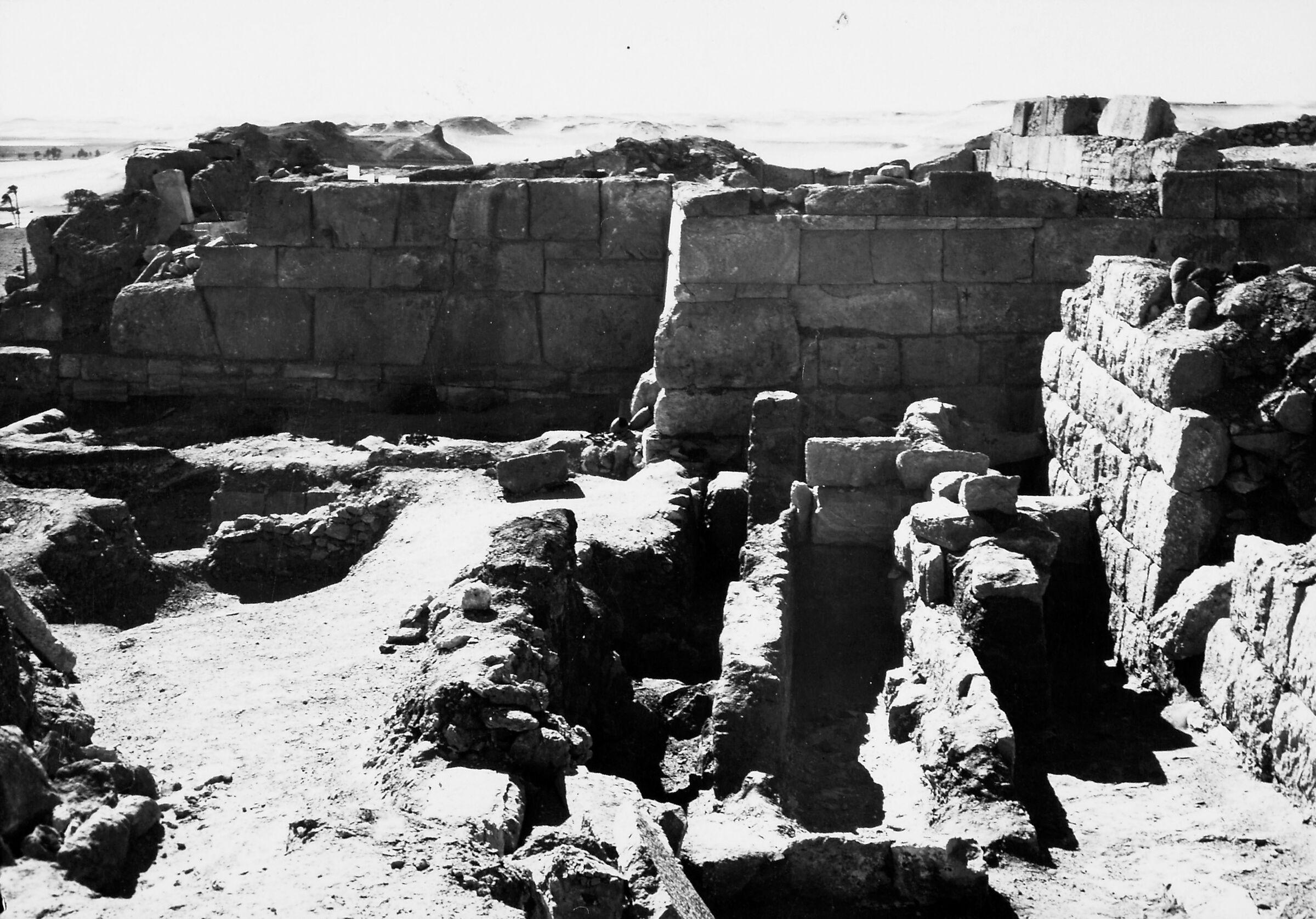 G I-South Cemetery: Site: Giza; View: Lepsius 55