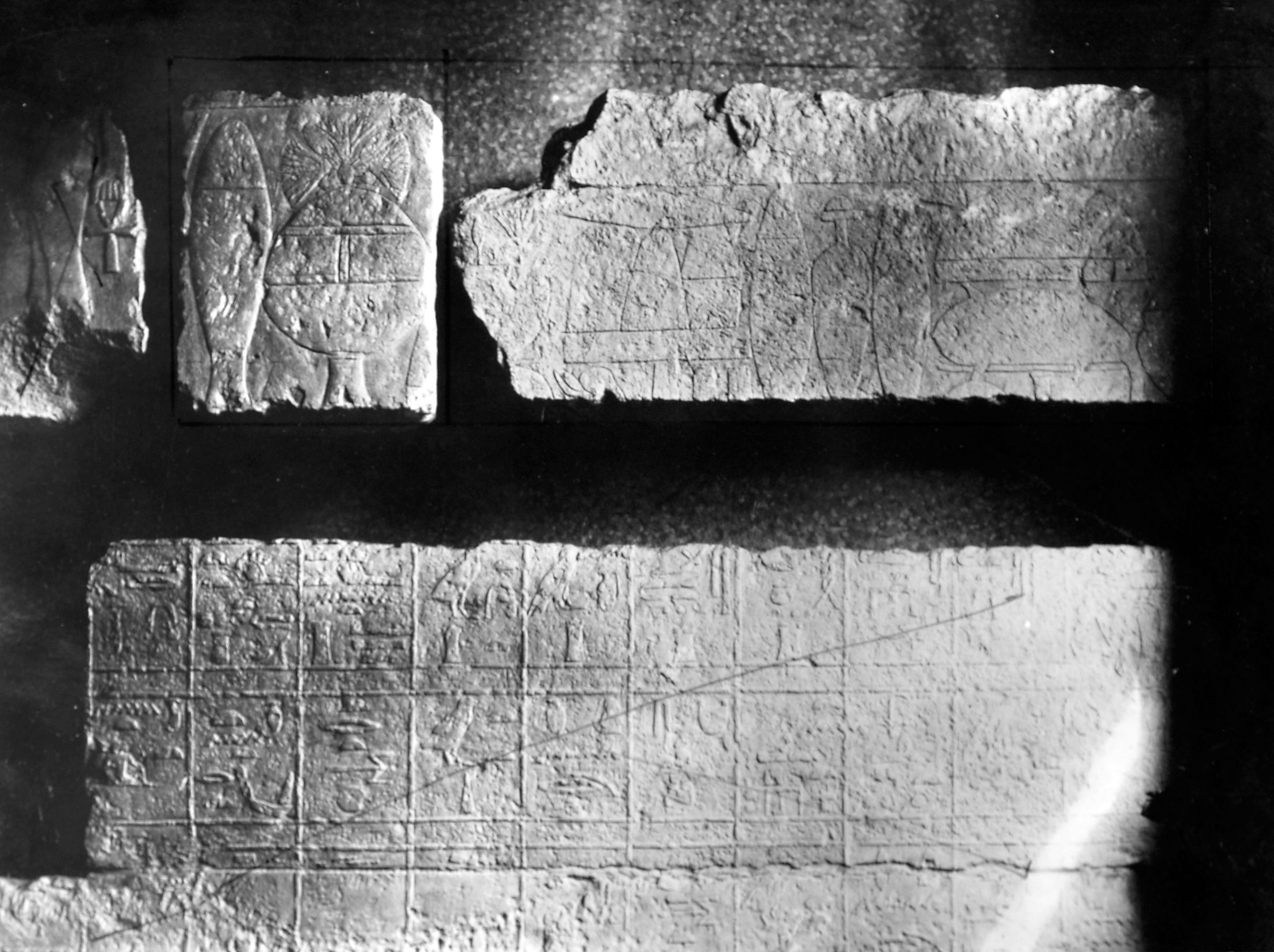 Object(s) photograph: Site: Giza; view: G 5550, S 127/129