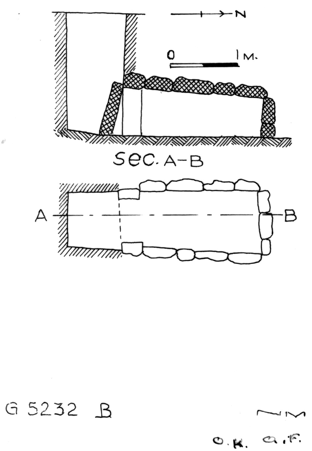 Maps and plans: G 5232, Shaft B