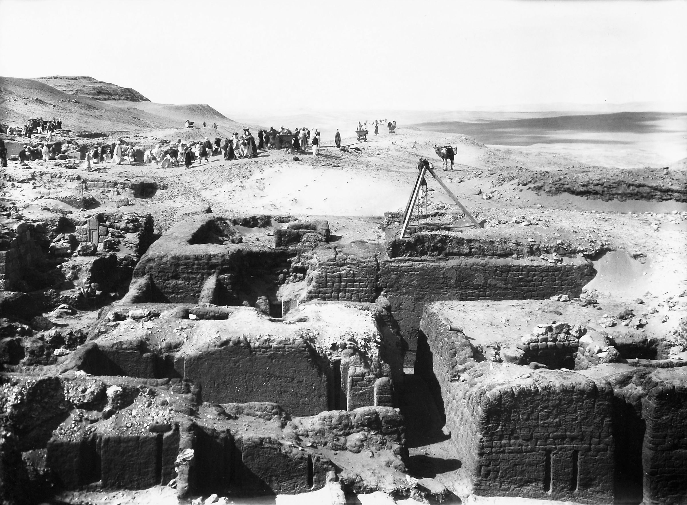 Western Cemetery: Site: Giza; View: Khesef [II], S 4411/4414, S 4372/4376