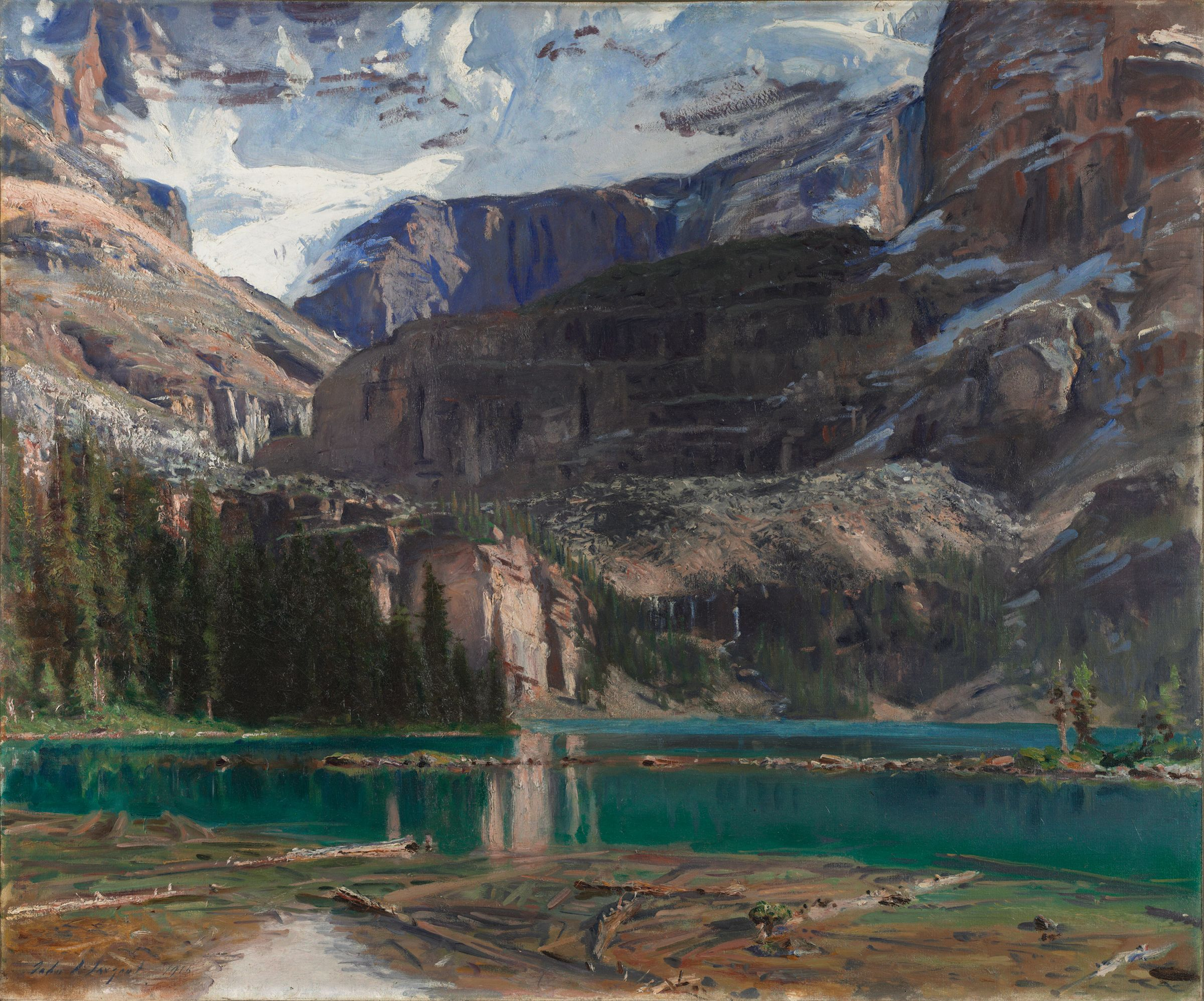 From the harvard art museums collections lake o 39 hara for John s painting