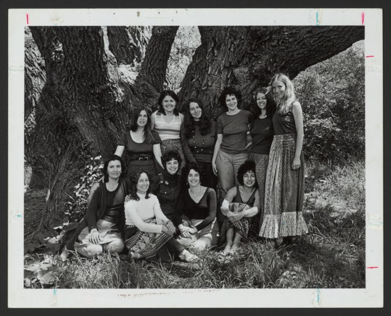 Group portrait of the Boston Women's Health Book Collective founders