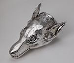 Stirrup Cup in the Form of a Fox's Head