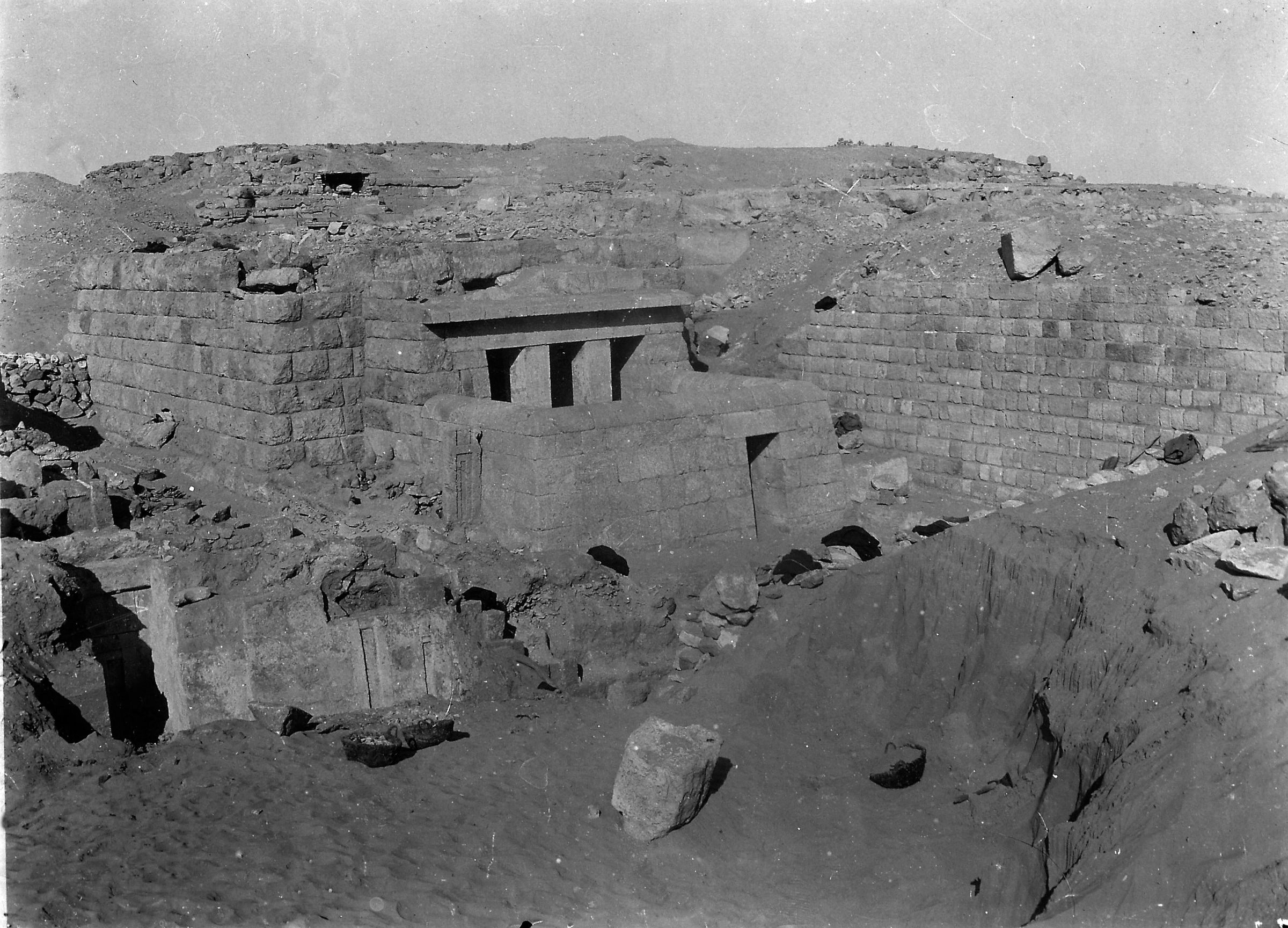 Western Cemetery: Site: Giza; View: Hesy, G 2100-II