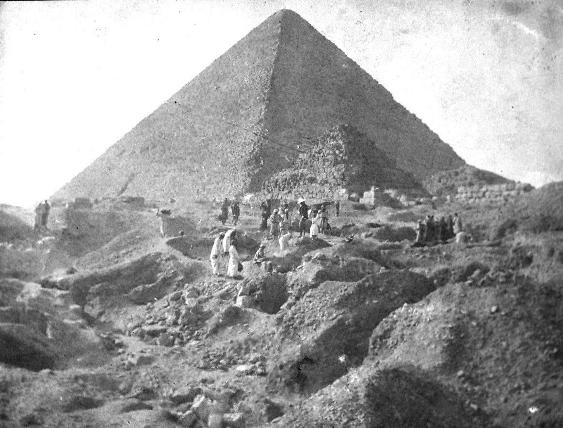 Eastern Cemetery: Site: Giza; View: G 7391; Khufu Pyramid