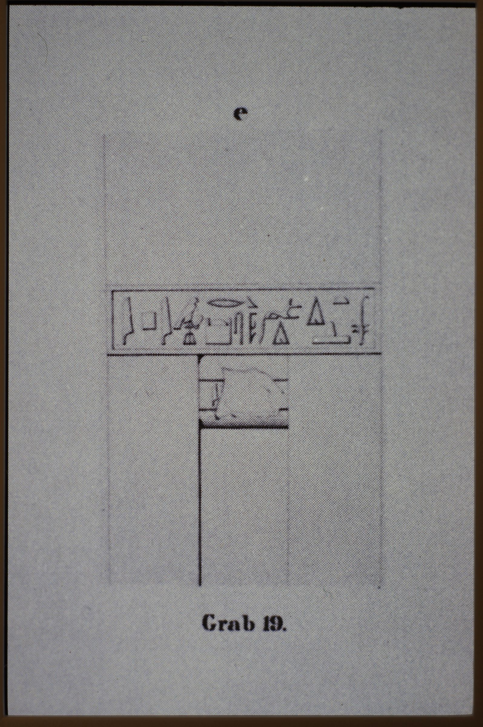 Drawings: Site: Giza; View: Lepsius 19
