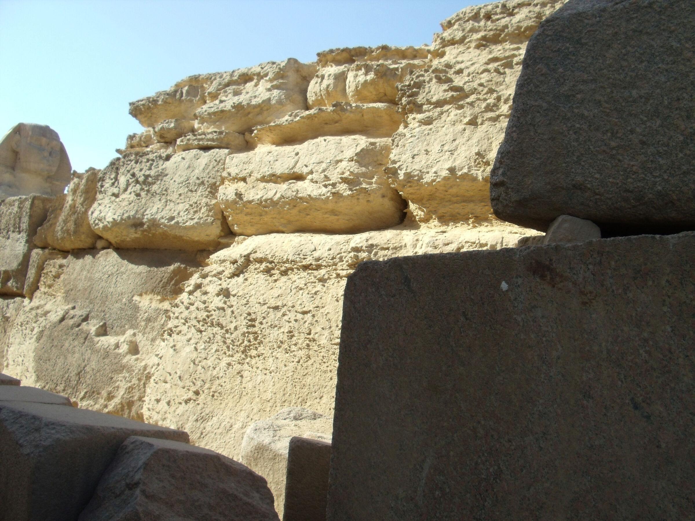 Khafre Pyramid Complex and Sphinx Complex: Site: Giza; View: Sphinx Temple