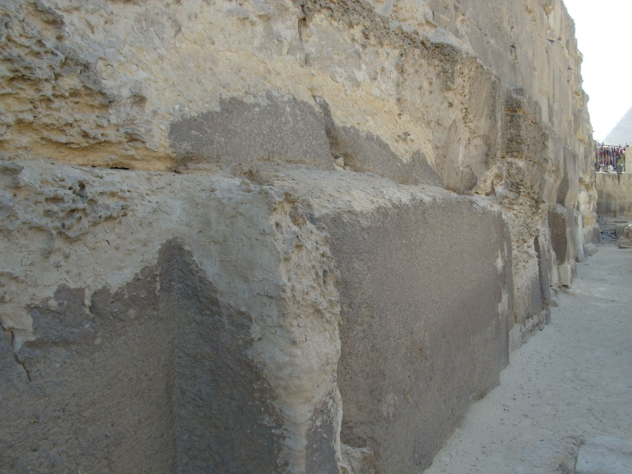 Khafre Pyramid Complex and Sphinx Complex: Site: Giza; View: Khafre Valley Temple