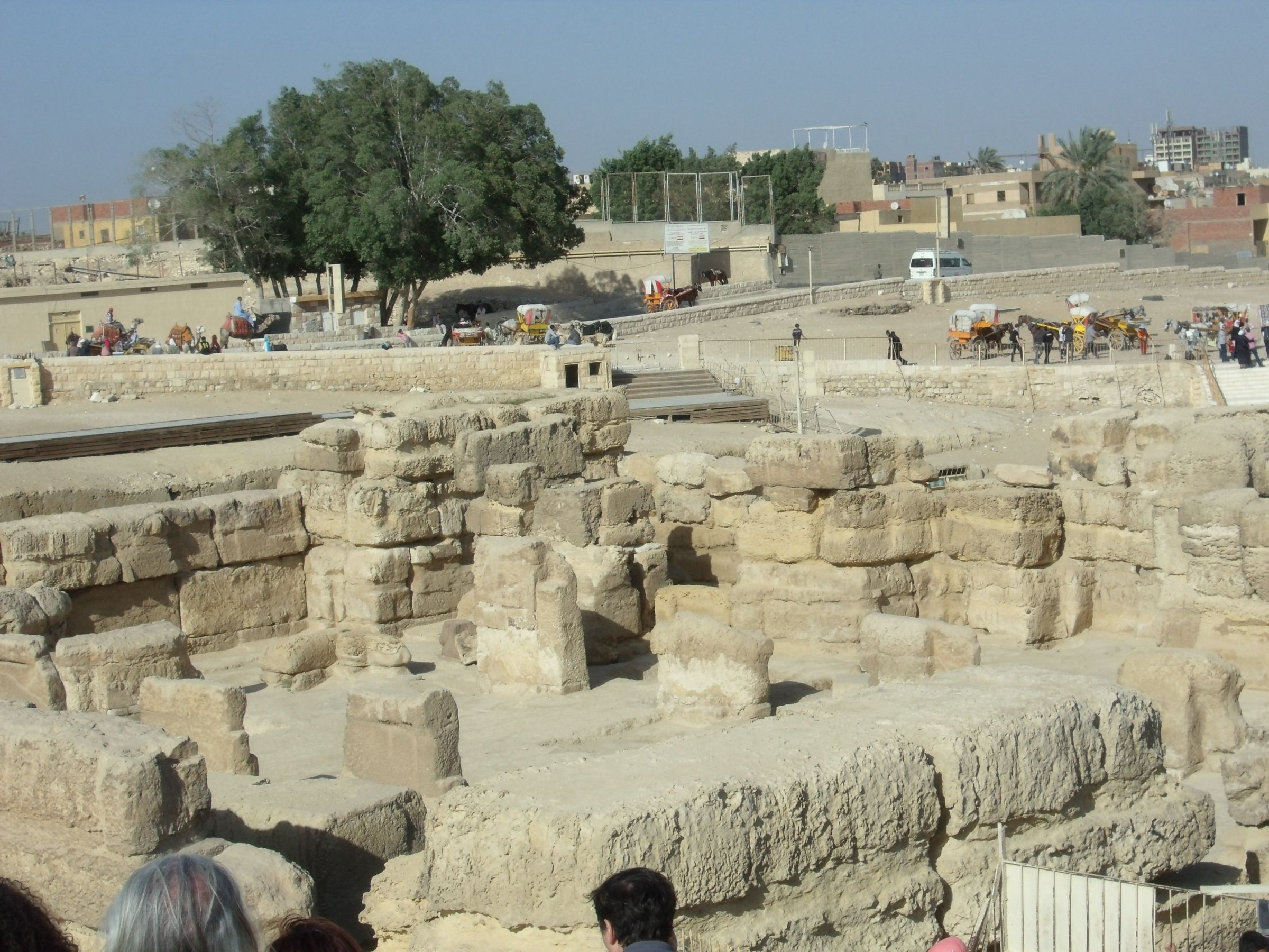Sphinx Complex: Site: Giza; View: Sphinx Temple