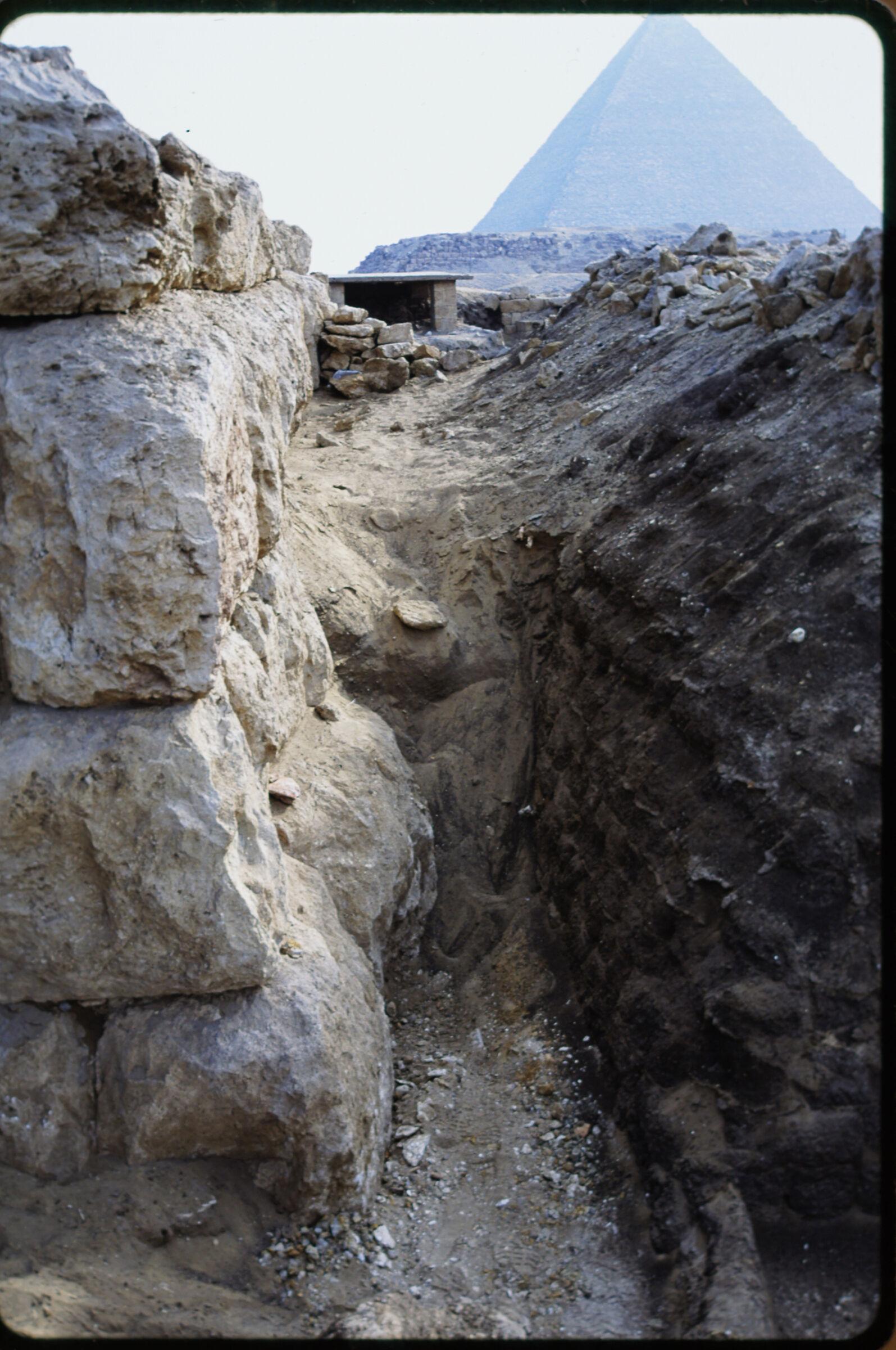 Abu Bakr Cemetery: Site: Giza; View: Mastaba X; Lepsius 20-21