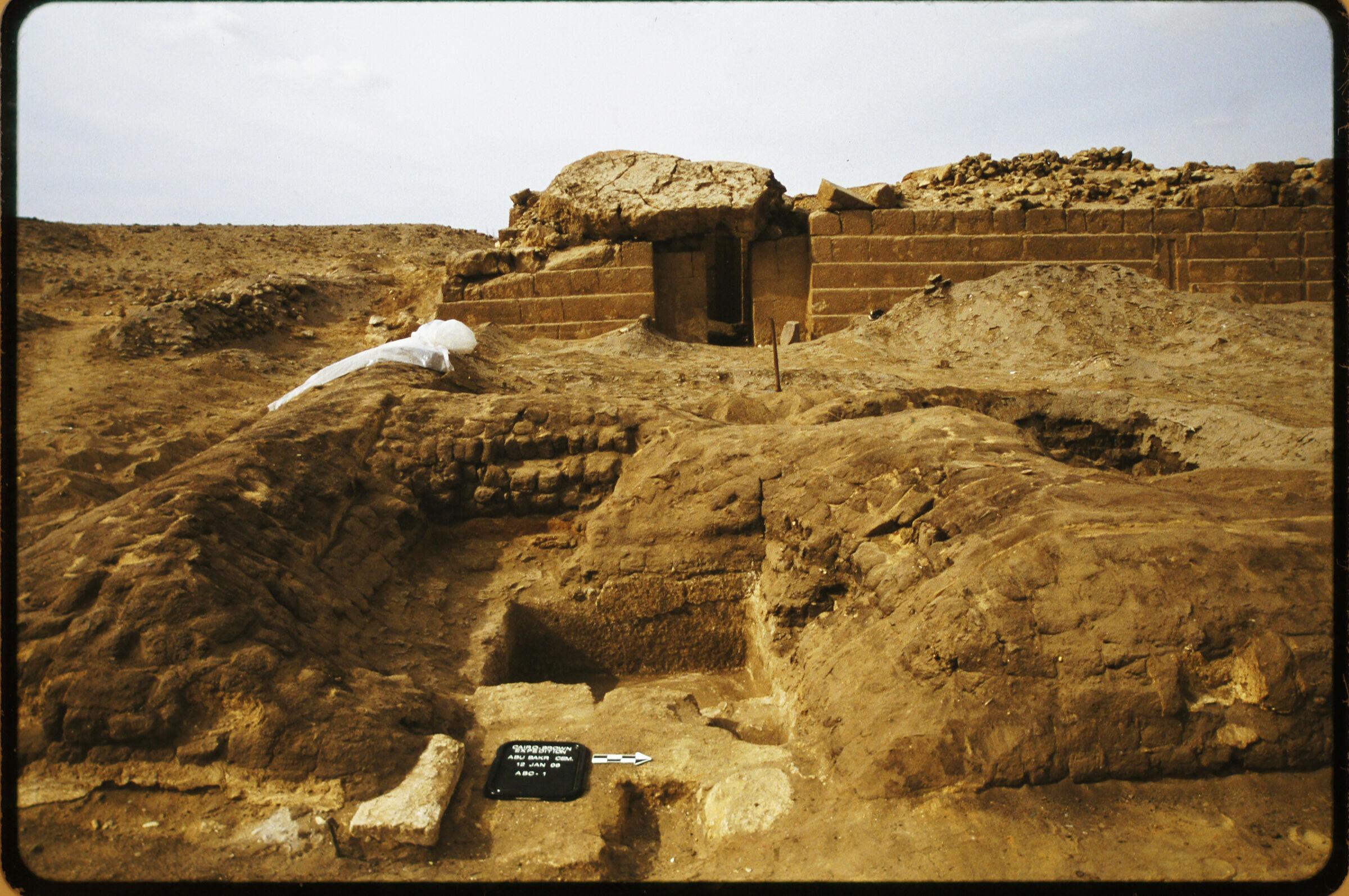 Abu Bakr Cemetery: Site: Giza; View: Persen Complex; Lepsius 19