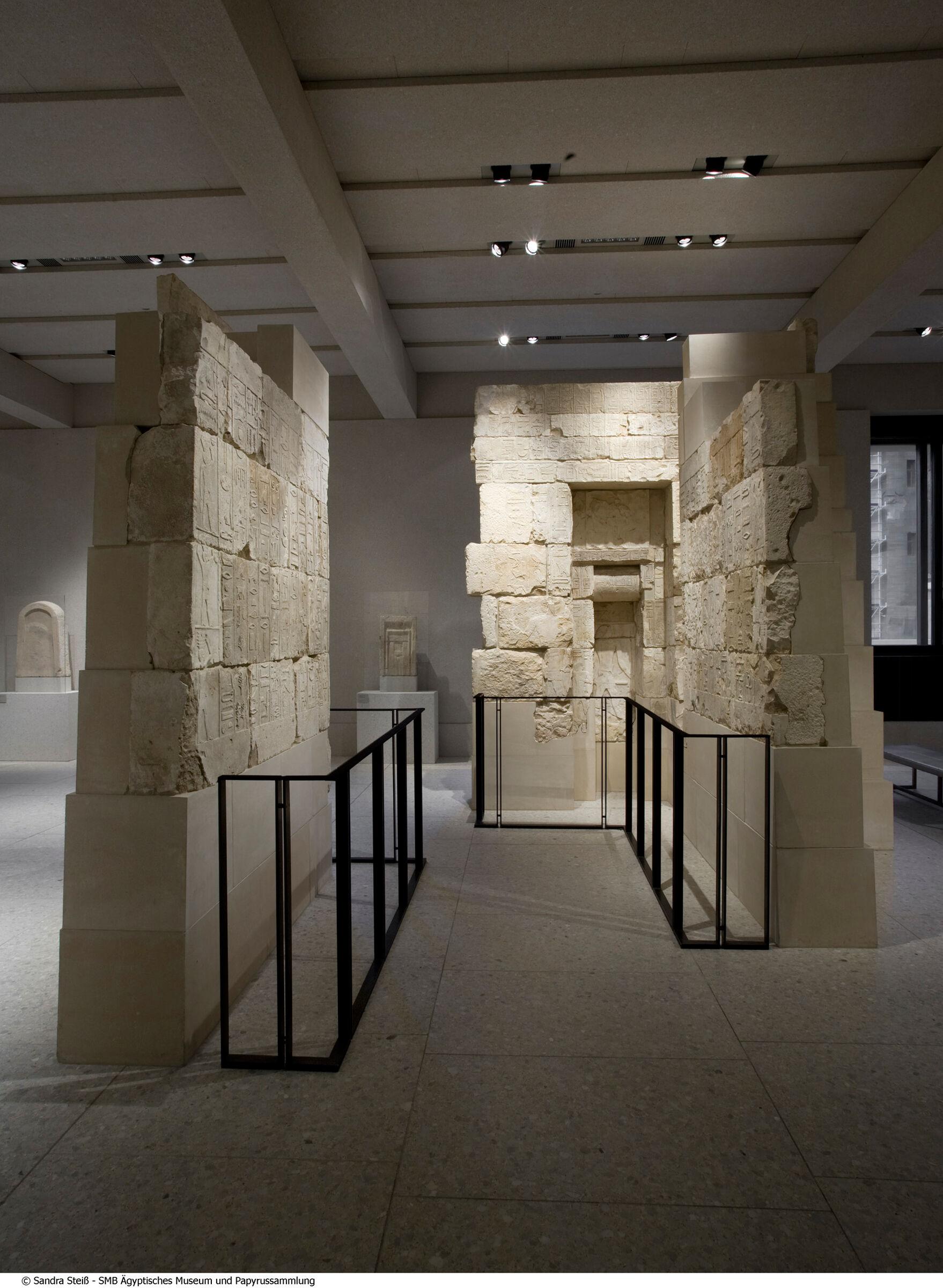 Ägyptisches Museum und Papyrussammlung, Berlin: Site: Giza; View: G 2100-I Chapel
