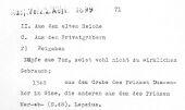 Object register entry: