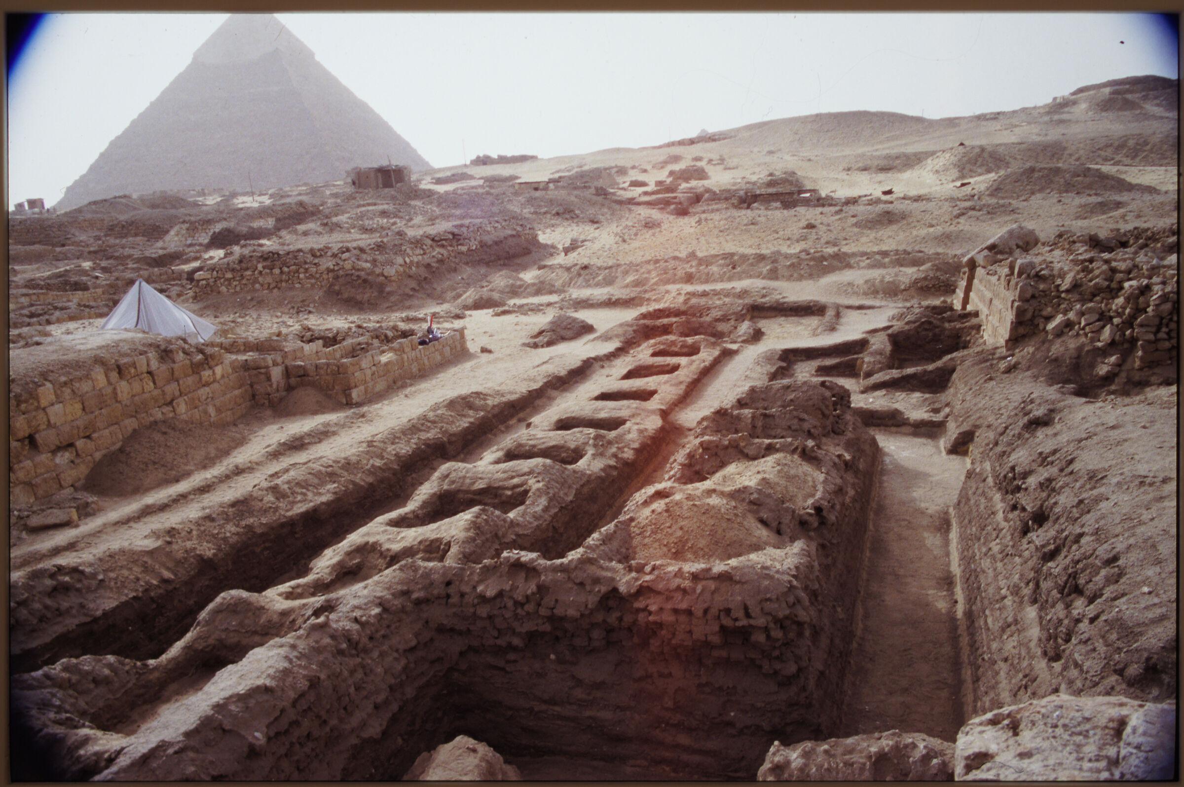 Abu Bakr Cemetery: Site: Giza; View: Lepsius 19; Mastaba X (ABC); ABC 2; ABC 3; ABC 4; ABC 7; ABC 8; ABC 9; ABC 10; ABC 11; ABC 12; ABC 13; ABC 14; ABC 15; ABC 16; ABC 17; ABC 18; ABC 19