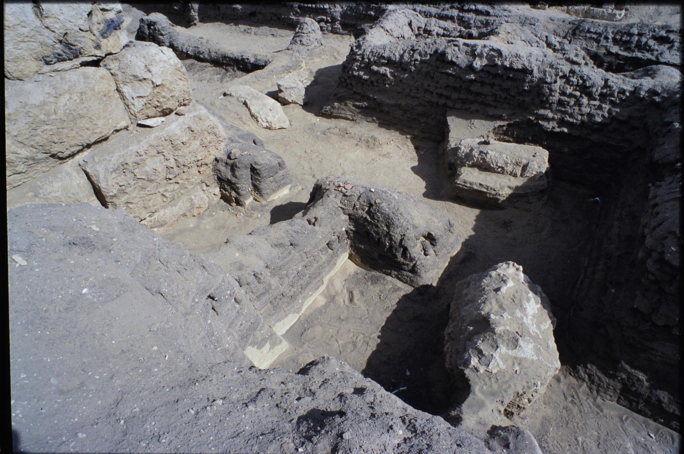 Abu Bakr Cemetery: Site: Giza; View: Mastaba X (ABC); Lepsius 20-21; ABC 13; ABC 14