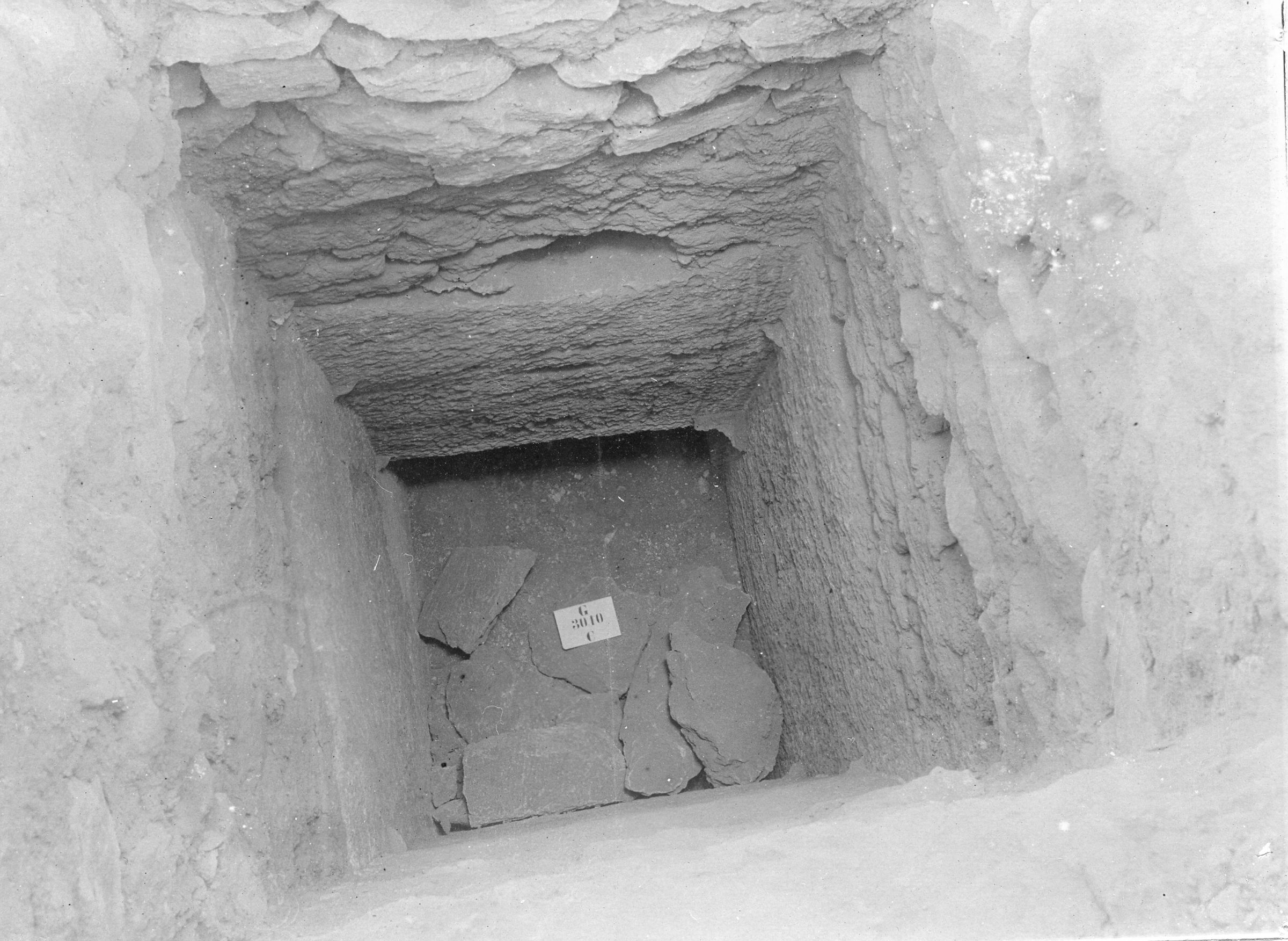 Western Cemetery: Site: Giza; view: G 3010