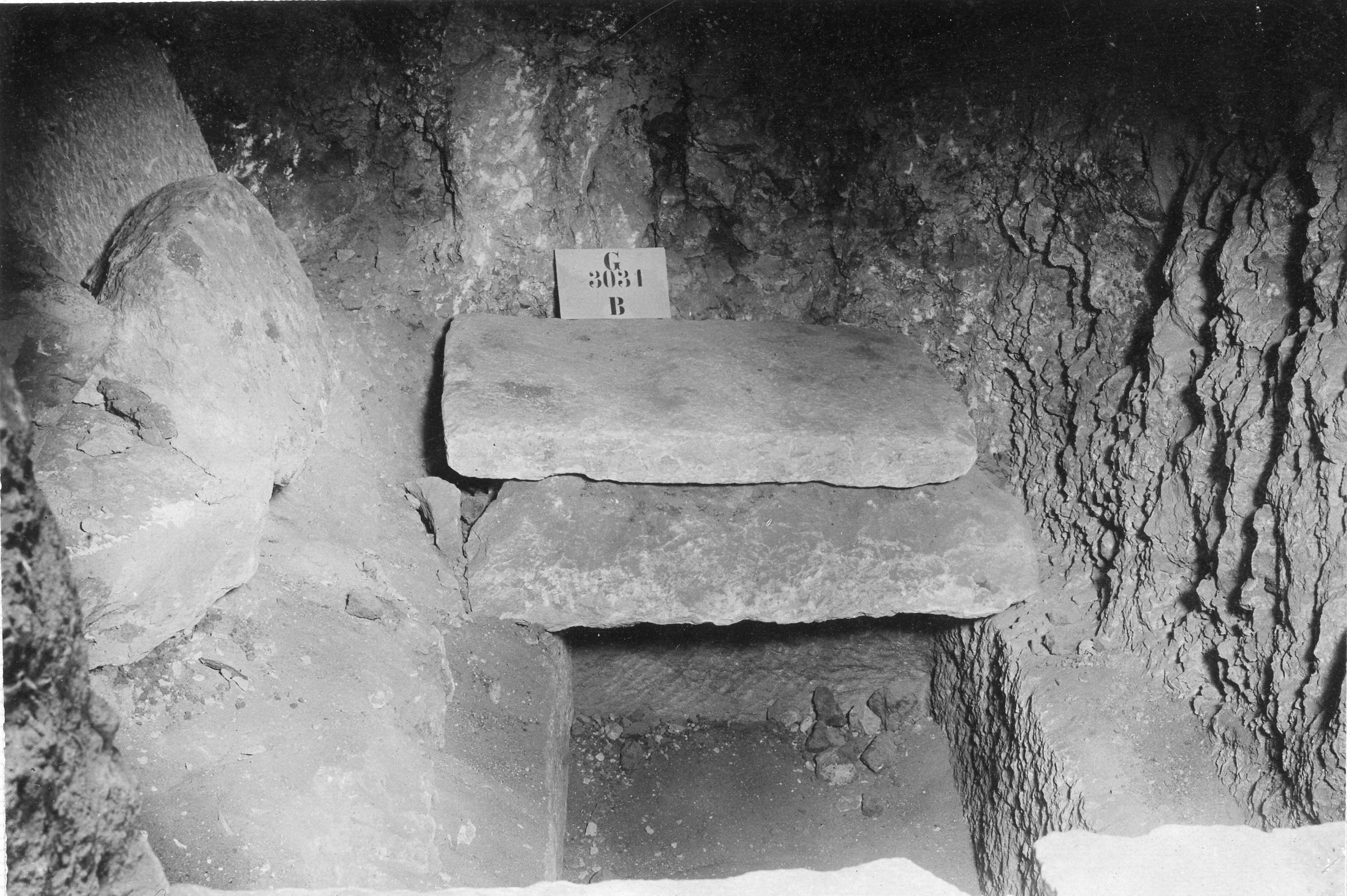 Western Cemetery: Site: Giza; view: G 3031