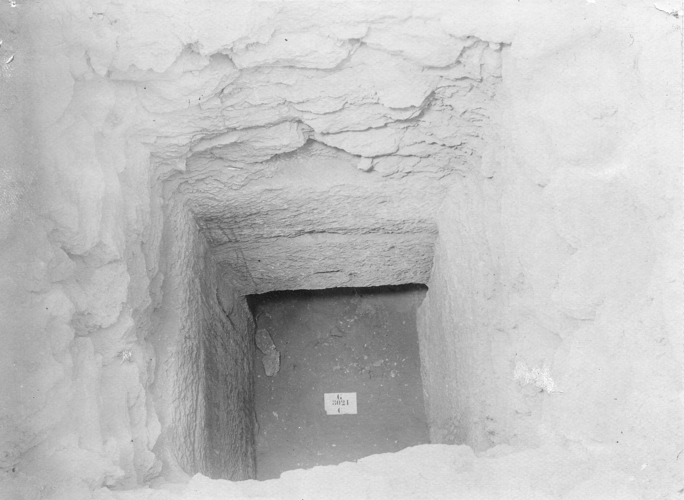 Western Cemetery: Site: Giza; view: G 3021