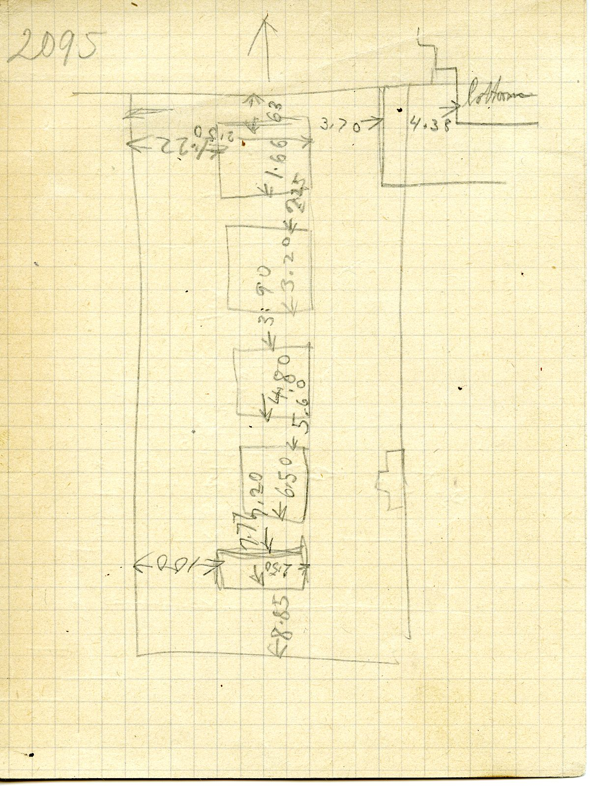 Maps and plans: G 3095, Sketch Plan