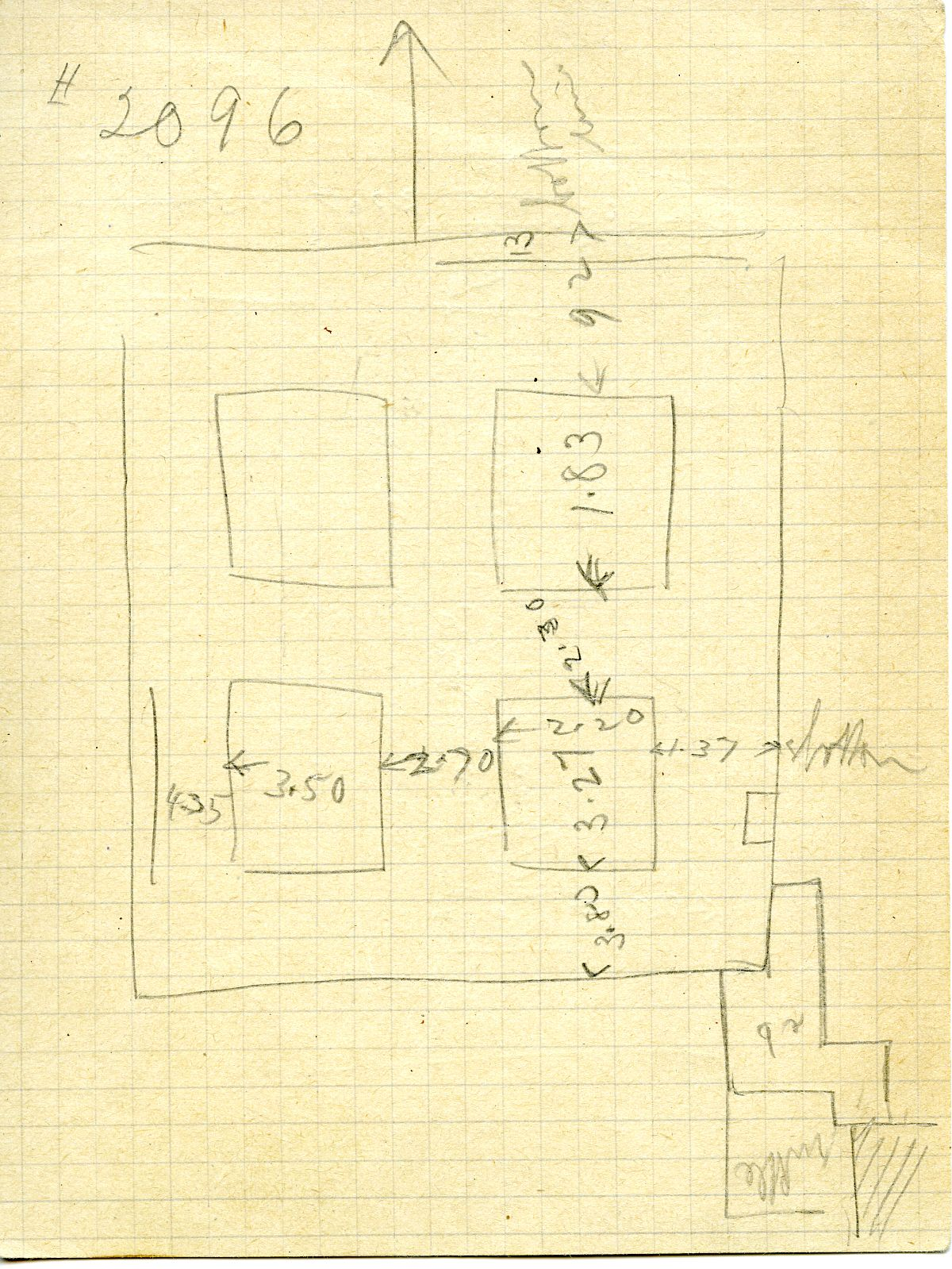 Maps and plans: G 3096, Sketch Plan
