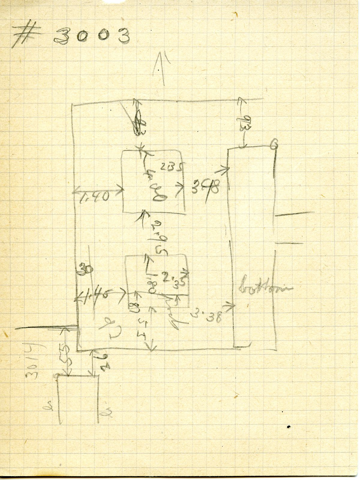 Maps and plans: G 3003, Sketch Plan
