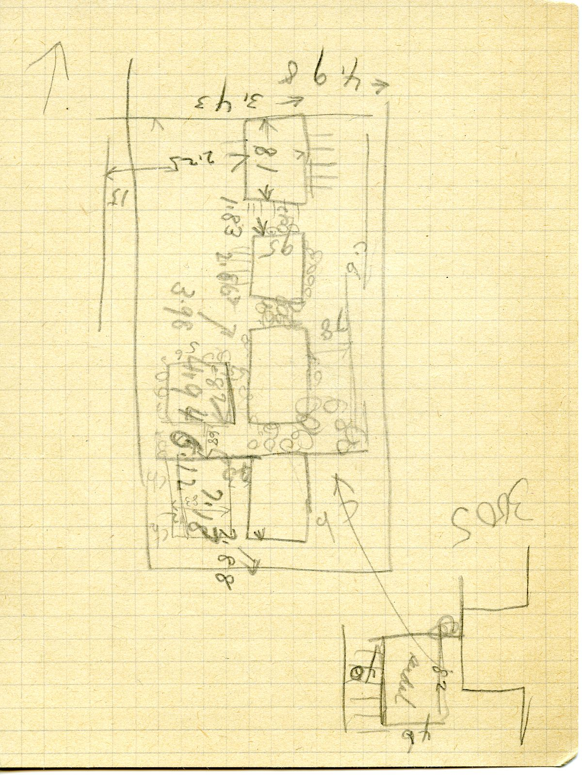Maps and plans: G 3005, Sketch plan