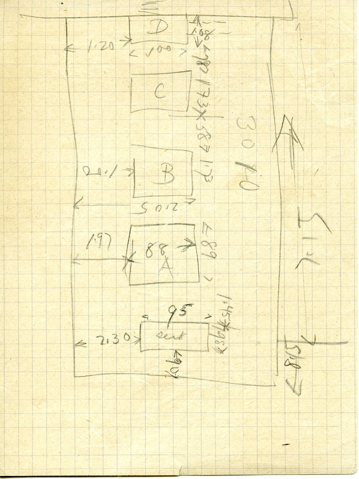 Maps and plans: G 3010, Sketch plan