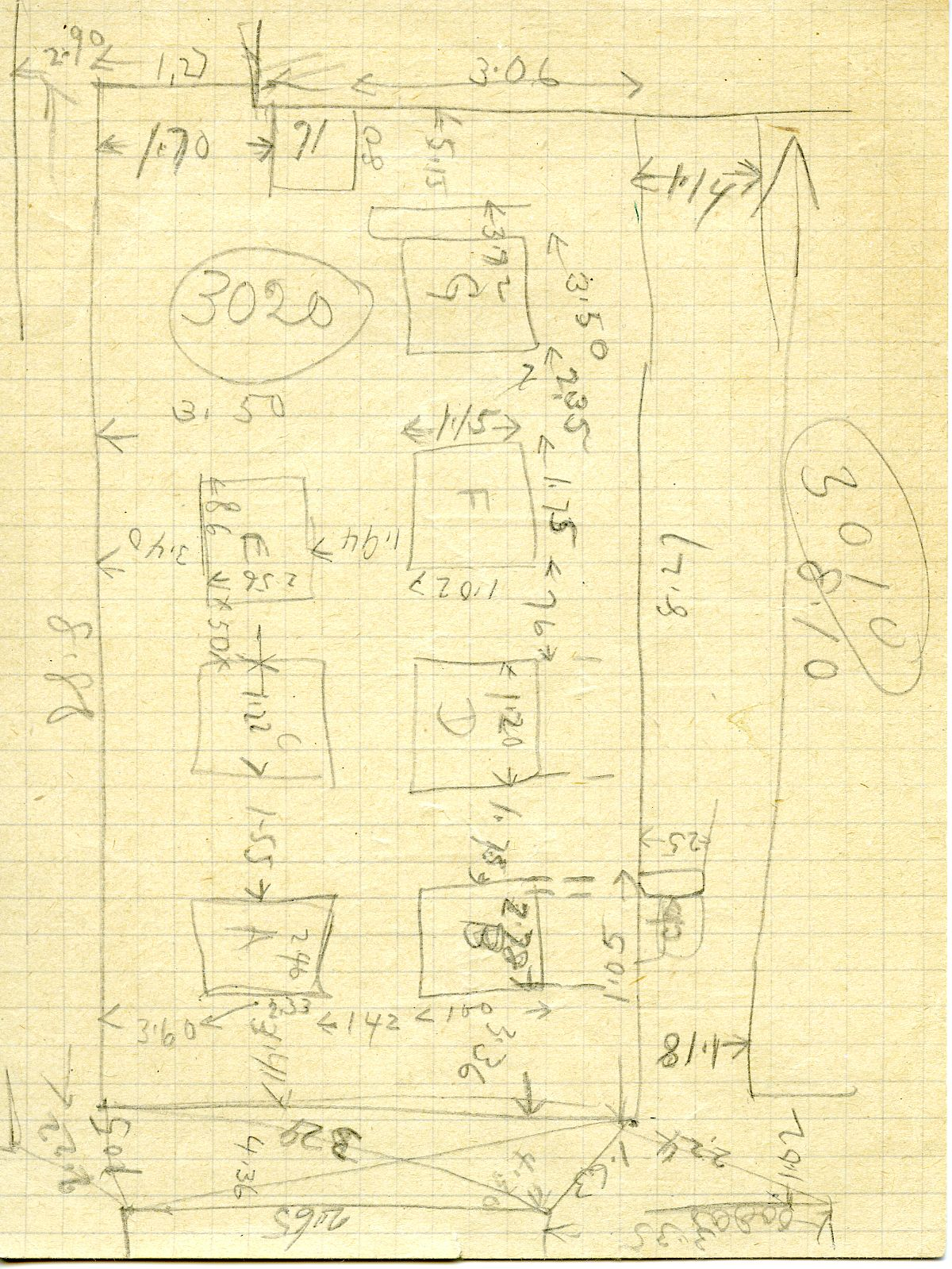 Maps and plans: G 3020, Sketch plan