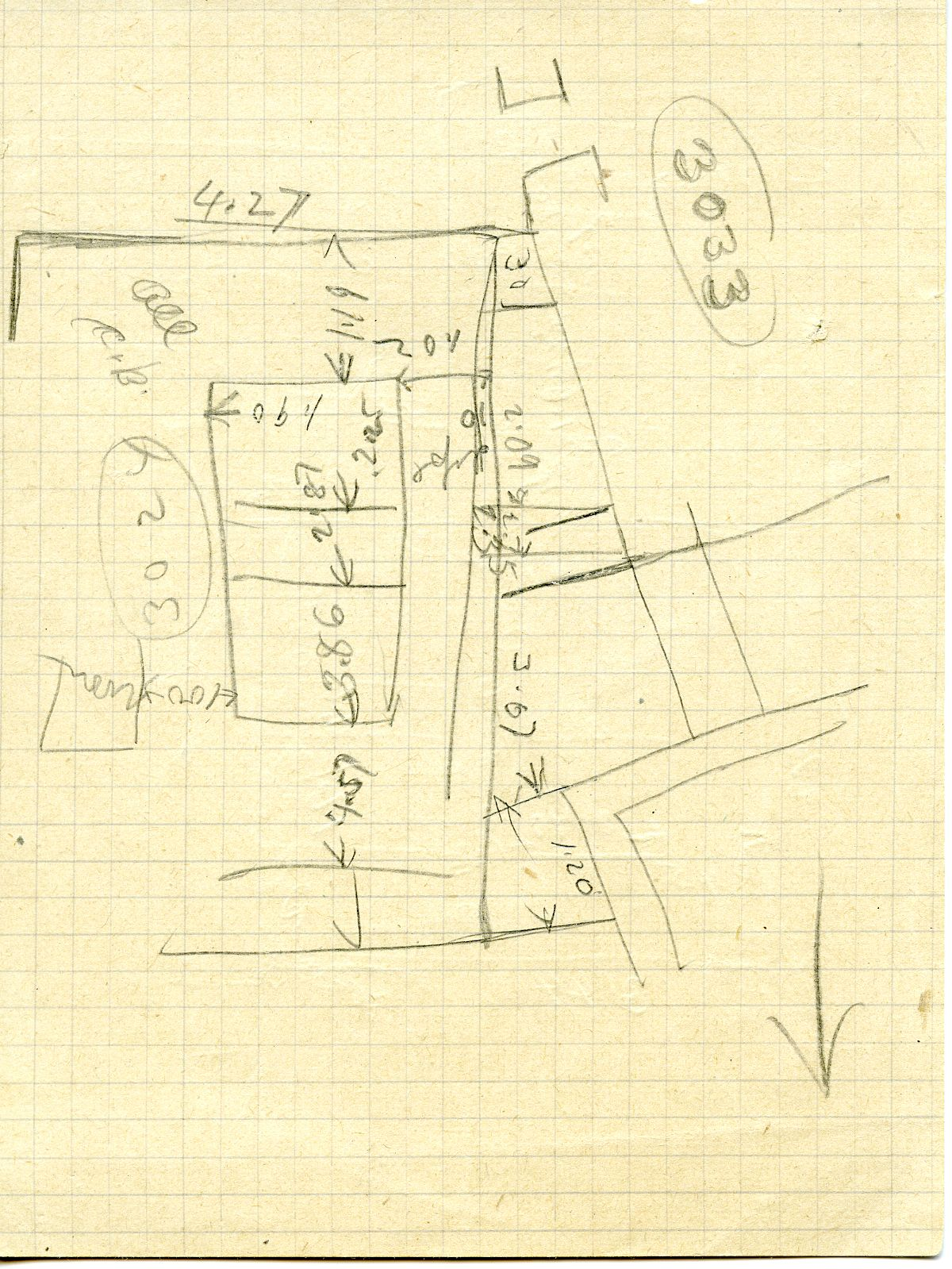 Maps and plans: G 3024, Sketch plan