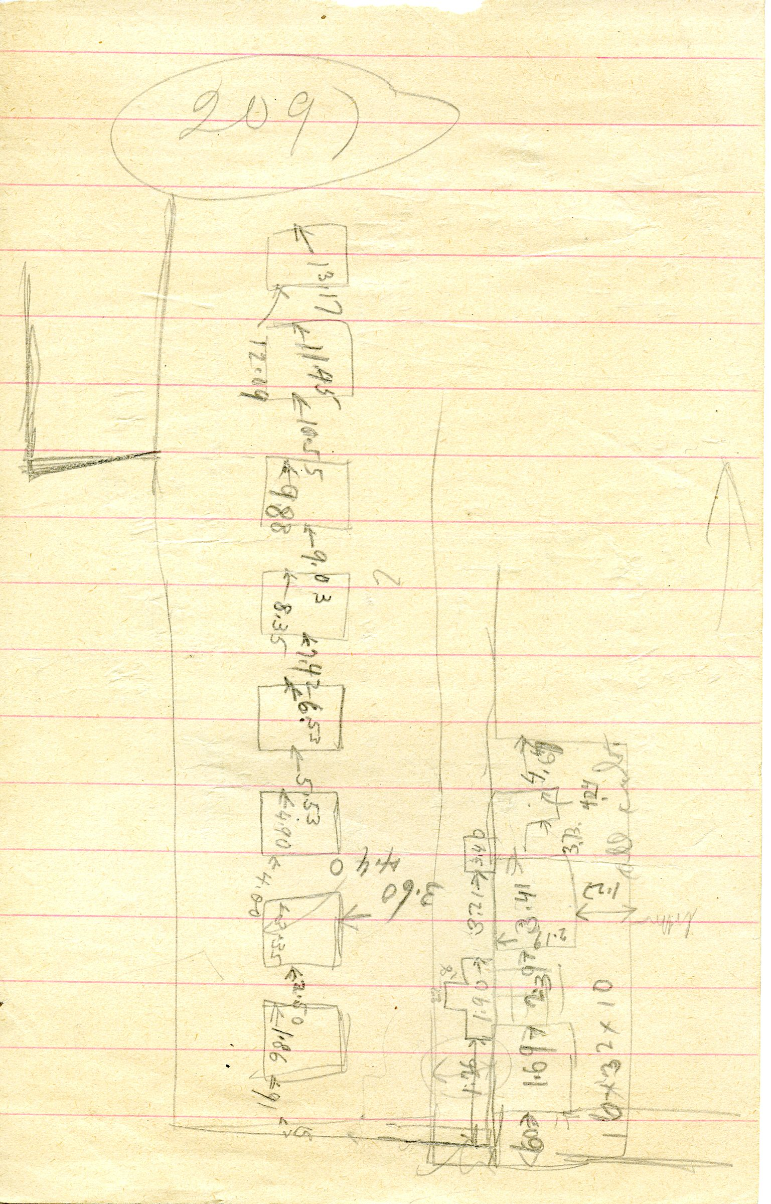 Maps and plans: G 3097, Sketch plan