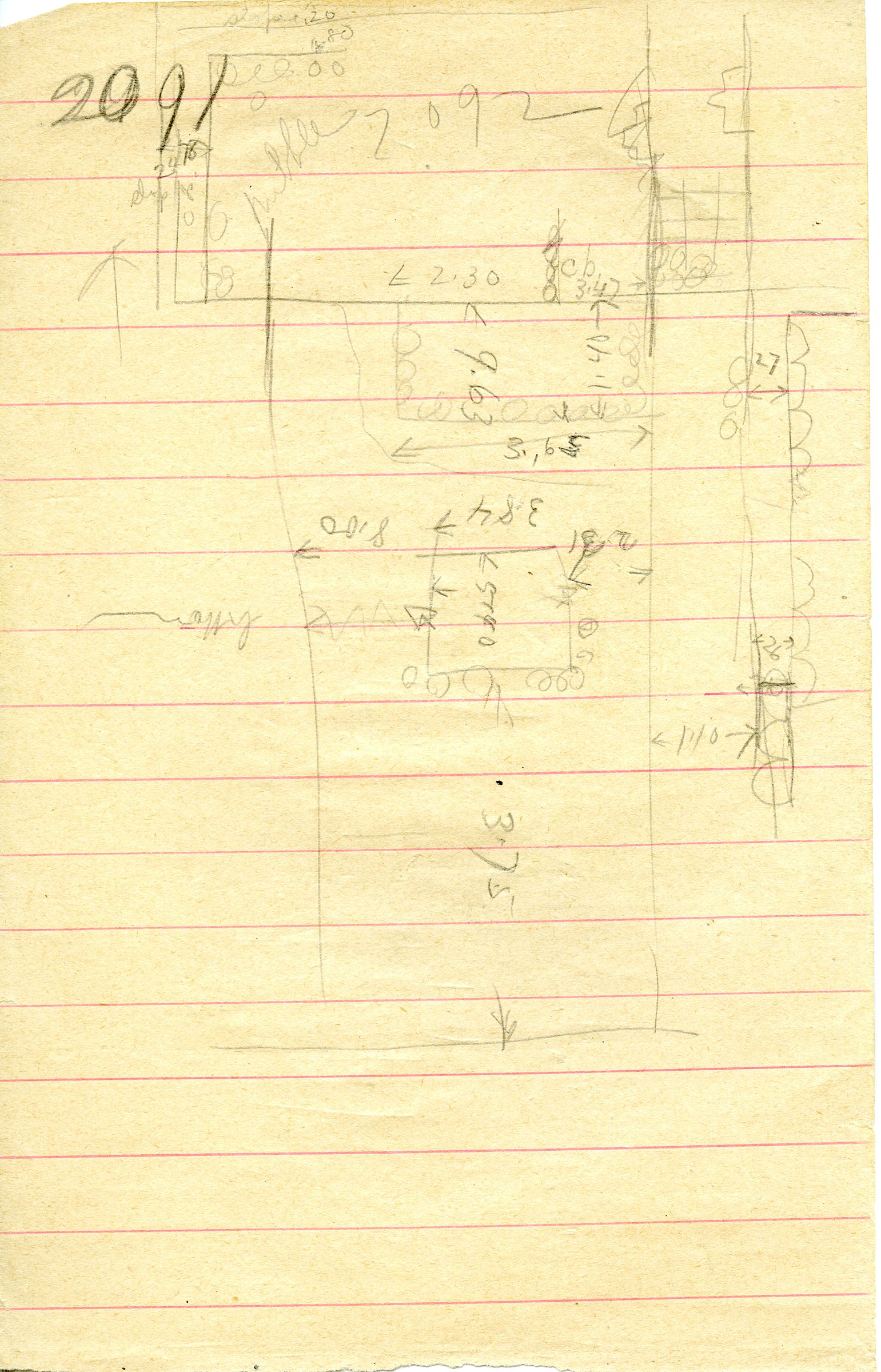 Maps and plans: G 3091, Sketch plan