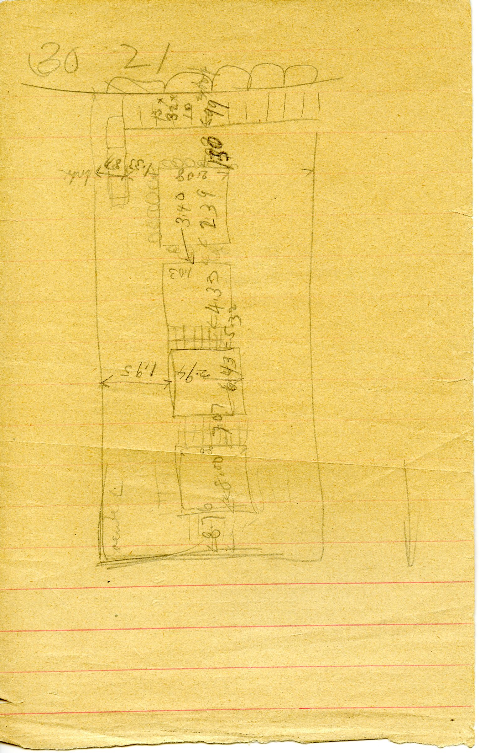 Maps and plans: G 3021, Sketch plan