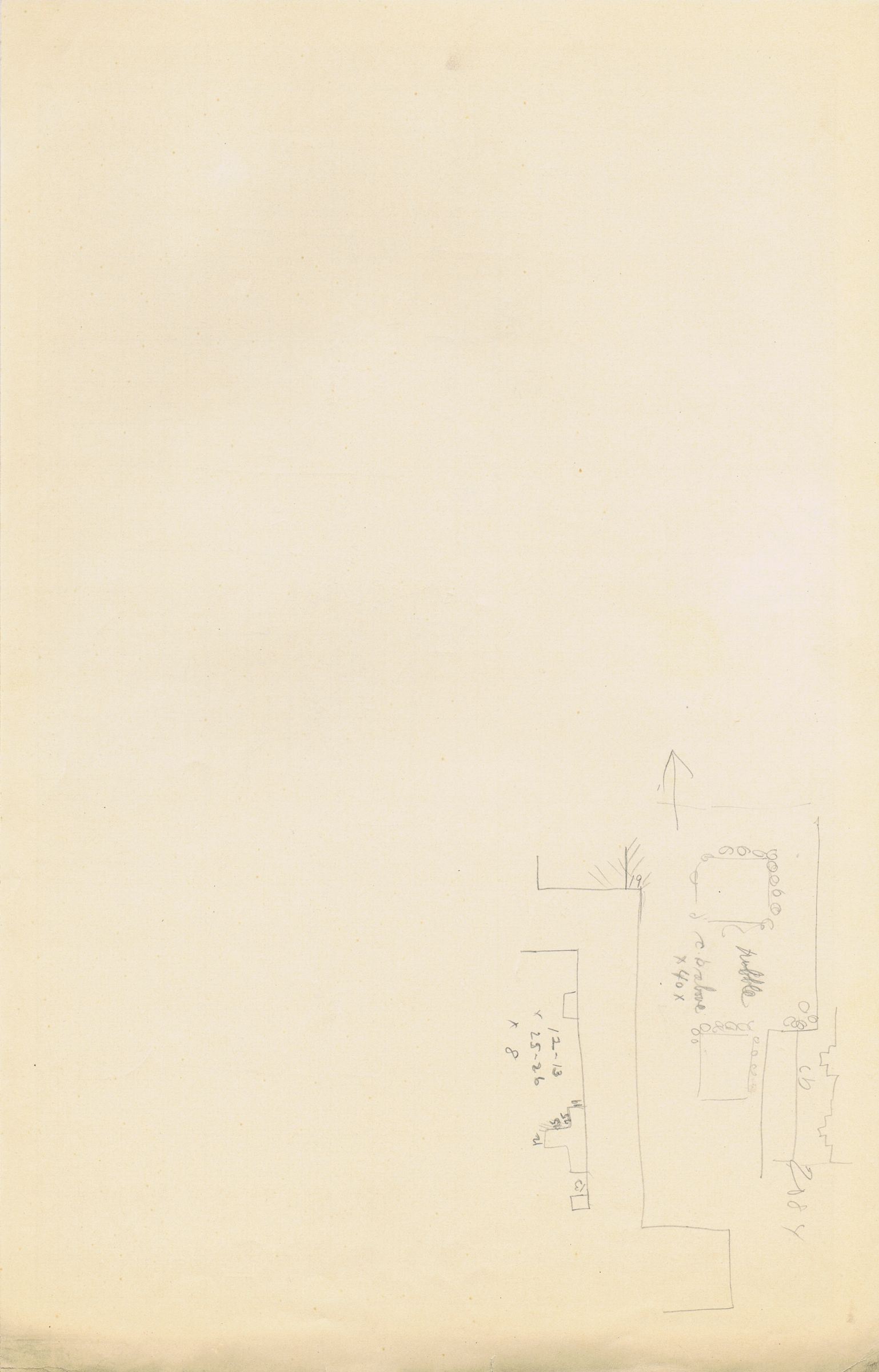 Maps and plans: Sketch plan of G 3084