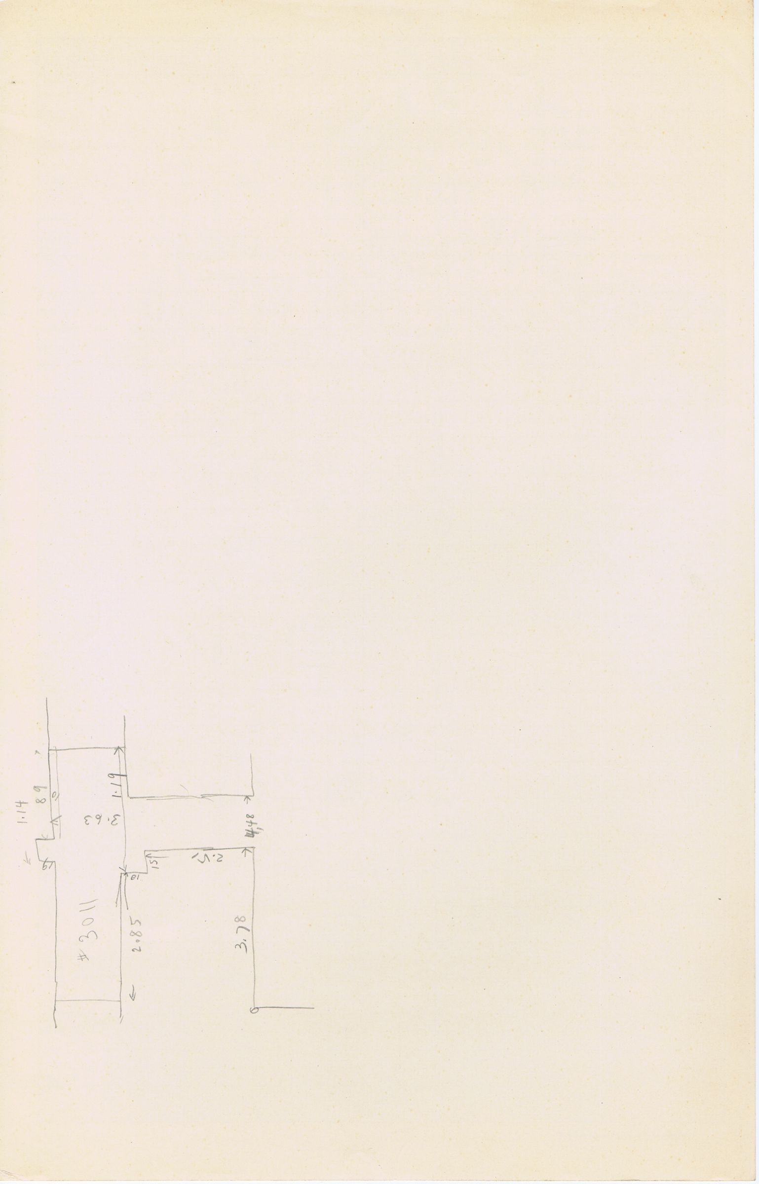 Maps and plans: Sketch plan of G 3011