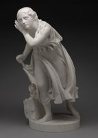 Nydia, The Blind Flower Girl Of Pompeii