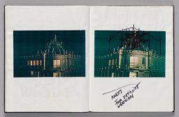 Untitled (Pasted Photograph, Left Page); Untitled (Pasted Photograph With Sketch And Notes, Right Page)