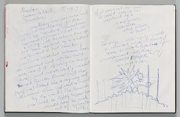 Untitled (Extensive Notes And Design For Inflatable Sculpture, Two-Page Spread)