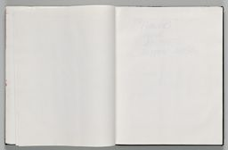 Untitled (Blank, Left Page); Untitled (Blank, Right Page)
