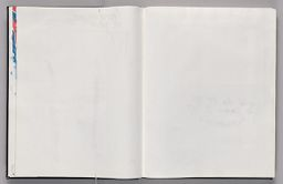 Untitled (Color Transfer, Left Page); Untitled (Color Transfer Of Text On Following Pages, Right Page)