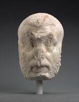 Bearded Man, Possibly Emperor Macrinus