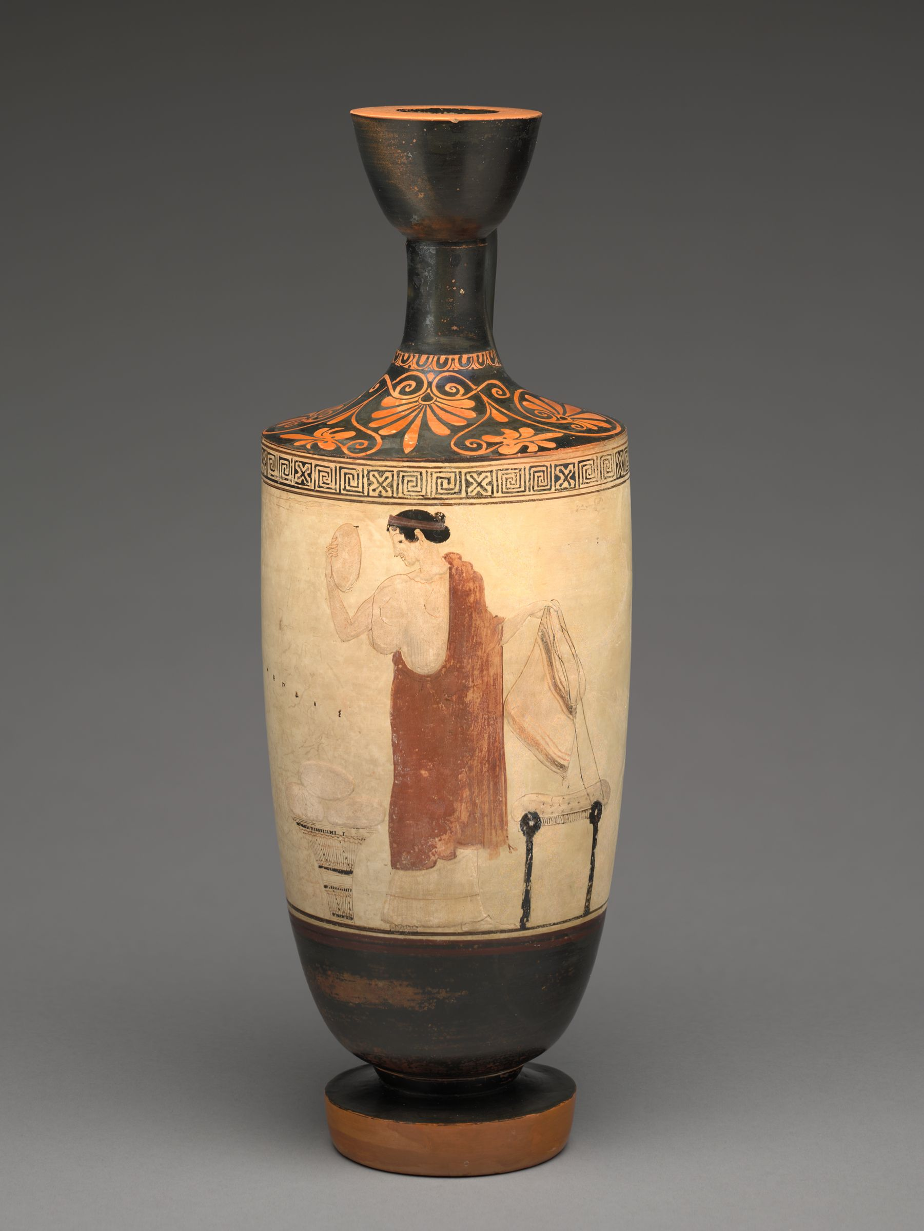 From The Harvard Art Museums Collections Lekythos Oil