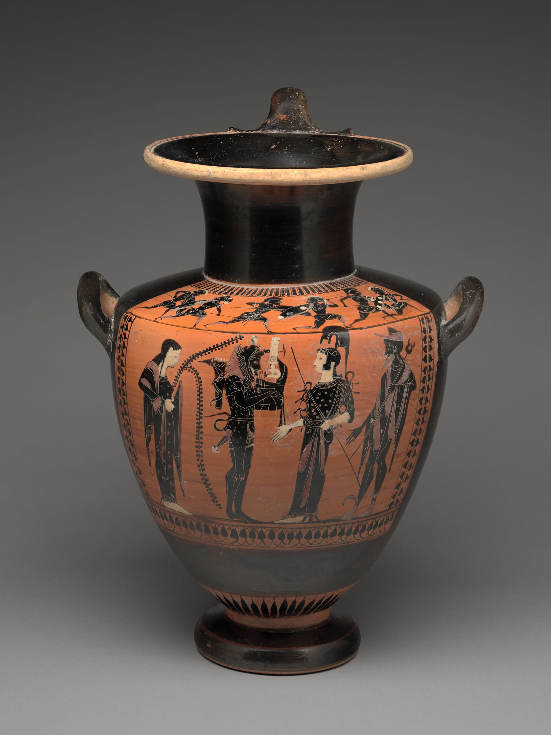 Hydria (Water Jar): Herakles As Musician