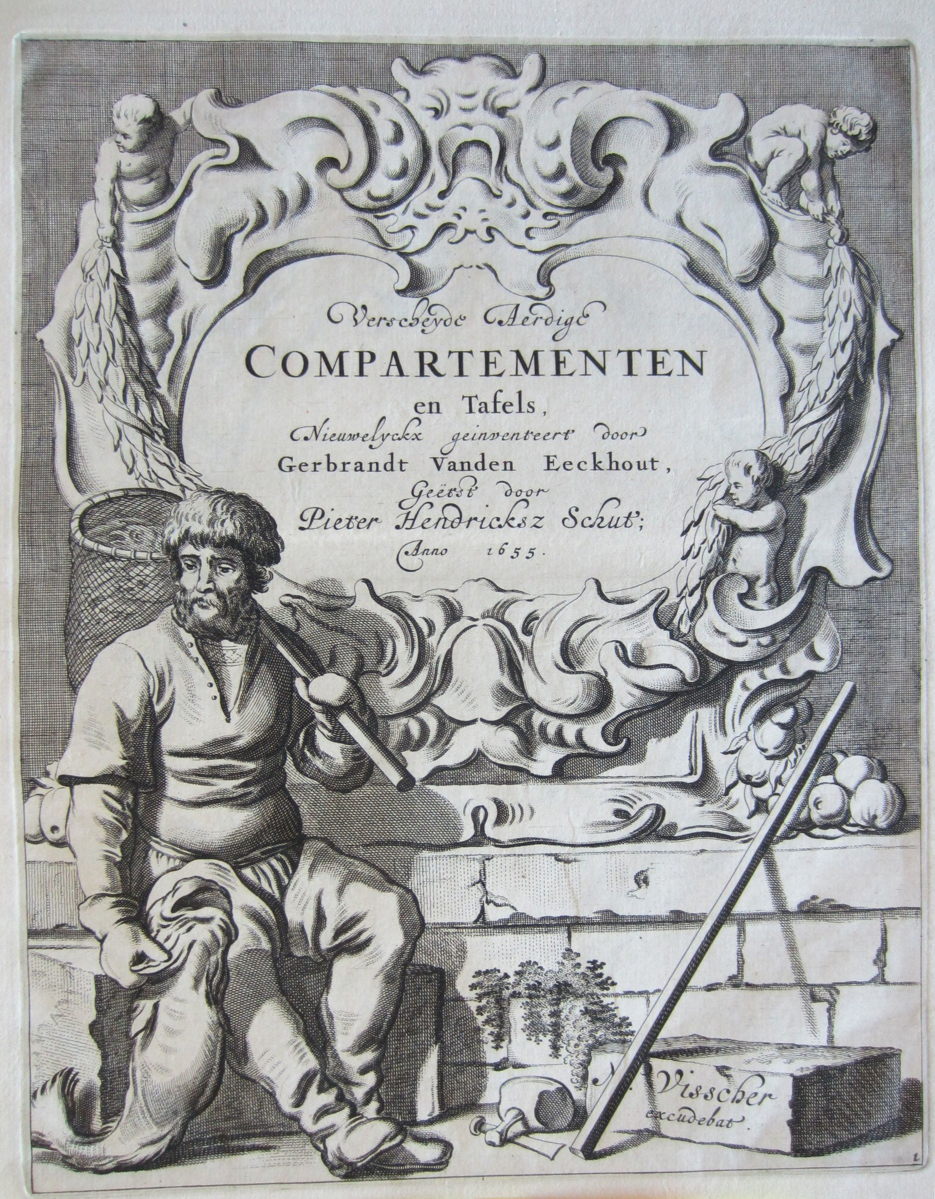 Titlepage: Various Beautiful Cartouches And Tables
