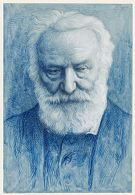 Portrait of Victor Hugo